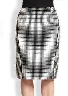 Lafayette 148 New York, Sizes 14-24 Art Deco Jacquard Ariella Skirt