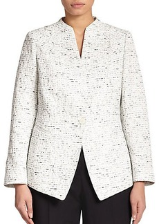 Lafayette 148 New York, Sizes 14-24 Asti Novelty Jacket