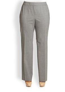 Lafayette 148 New York, Plus Size Barrow Pants
