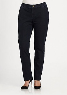Lafayette 148 New York, Sizes 14-24 Bi-Stretch Curvy  Jeans