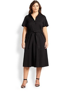 Lafayette 148 New York, Sizes 14-24 Braelyn Shirtdress