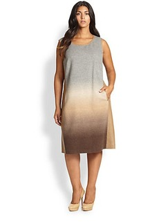 Lafayette 148 New York, Sizes 14-24 Caroline Ombré Dress