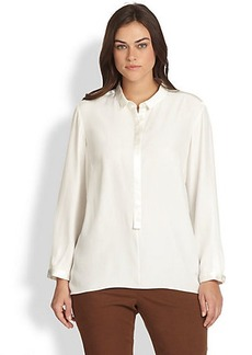 Lafayette 148 New York, Sizes 14-24 Chelsea Silk Tunic