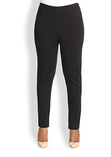 Lafayette 148 New York, Sizes 14-24 Contoured Slim Pants