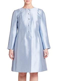 Lafayette 148 New York, Sizes 14-24 Cotton & Silk A-Line Jacket