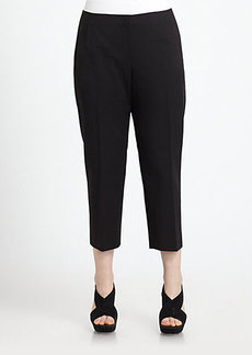 Lafayette 148 New York, Sizes 14-24 Cropped Bi-Stretch Pants