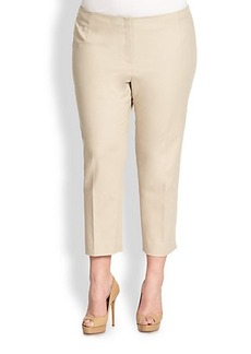 Lafayette 148 New York, Sizes 14-24 Cropped Bleeker Pants