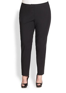 Lafayette 148 New York, Sizes 14-24 Crosby Slim-Leg Pants