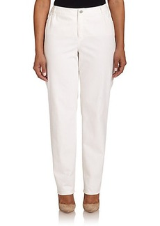 Lafayette 148 New York, Sizes 14-24 Curvy Slim-Leg Jeans