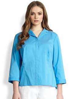 Lafayette 148 New York, Sizes 14-24 Denine Blouse