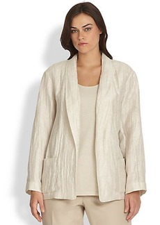 Lafayette 148 New York, Sizes 14-24 Ember Open Jacket