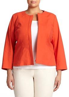 Lafayette 148 New York, Plus Size Ginnette Jacket