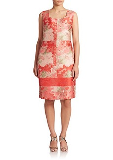 Lafayette 148 New York, Sizes 14-24 Jacquard Pammie Dress