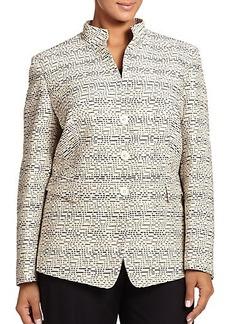 Lafayette 148 New York, Plus Size Kerianne Jacket