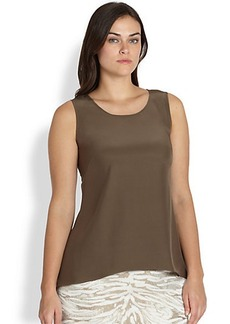 Lafayette 148 New York, Sizes 14-24 Lucy Silk Top