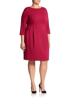 Lafayette 148 New York, Sizes 14-24 Ponte Sheath Dress