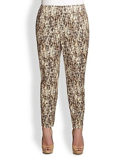 Lafayette 148 New York, Sizes 14-24 Printed Stanton Pants