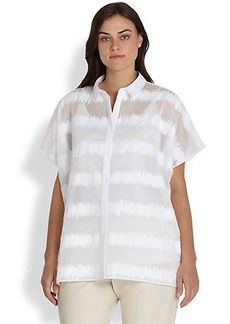 Lafayette 148 New York, Sizes 14-24 Salma Blouse