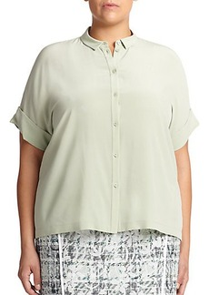 Lafayette 148 New York, Sizes 14-24 Silk Britlee Blouse