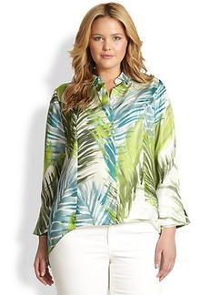 Lafayette 148 New York, Sizes 14-24 Silk Cori Blouse