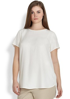Lafayette 148 New York, Sizes 14-24 Silk Kadence Top