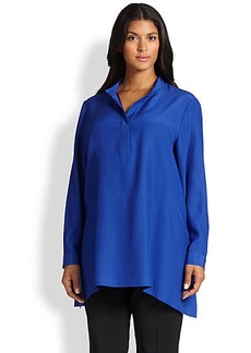 Lafayette 148 New York, Sizes 14-24 Silk Leona Blouse
