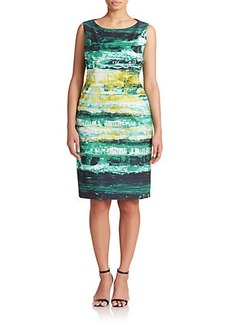 Lafayette 148 New York, Sizes 14-24 Silk Printed Dress