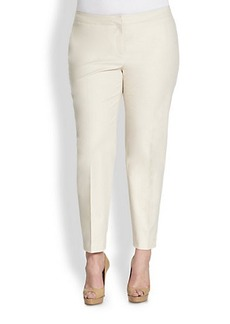 Lafayette 148 New York, Sizes 14-24 Slim-Leg Pants