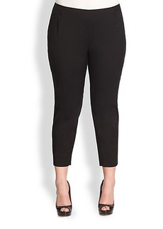 Lafayette 148 New York, Sizes 14-24 Stanton Cropped Slim-Leg Pants