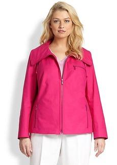 Lafayette 148 New York, Sizes 14-24 Stretch Tamika Jacket