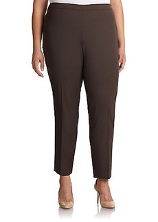 Lafayette 148 New York, Plus Size Stretch Wool Bleecker Pants