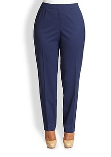 Lafayette 148 New York, Sizes 14-24 Stretch Wool Crosby Pants