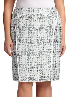 Lafayette 148 New York, Sizes 14-24 Sylvana Pencil Skirt