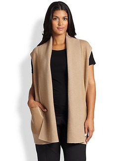 Lafayette 148 New York, Sizes 14-24 Wool Long vest