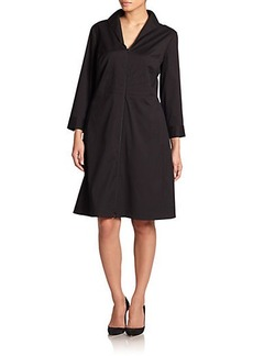 Lafayette 148 New York, Sizes 14-24 Zip-Front Dress