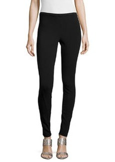 Lafayette 148 New York Skinny-Fit Leggings, Black