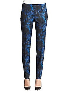 Lafayette 148 New York Skinny Lily Pintuck Pants