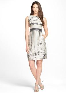 Lafayette 148 New York Sleeveless Floral Jacquard Dress