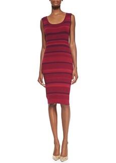 Lafayette 148 New York Sleeveless Ribbed Vanise Dress