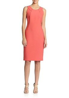 Lafayette 148 New York Sleeveless Sheath Dress