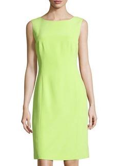 Lafayette 148 New York Sleeveless Silk Sheath Dress
