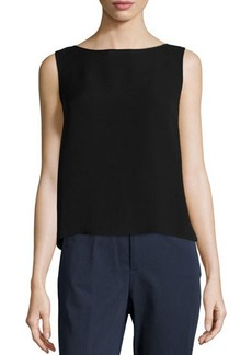 Lafayette 148 New York Sleeveless Silk Tank