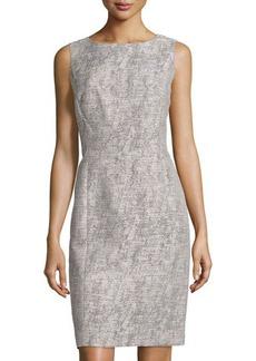 Lafayette 148 New York Sleeveless Tweed Carol Dress