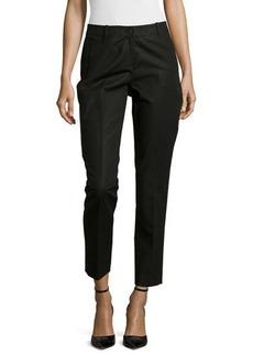 Lafayette 148 New York Slim-Leg Cropped Pants