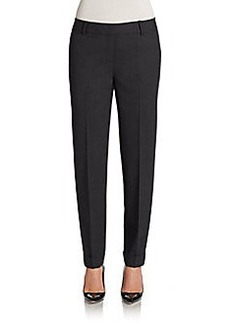 Lafayette 148 New York Slim-Leg Cuffed Pants