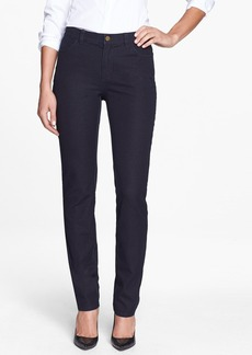 Lafayette 148 New York Slim Leg Curvy Stretch Jeans
