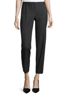 Lafayette 148 New York Slim Leg Pants, Smoke