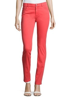 Lafayette 148 New York Slim-Leg Twill Pants
