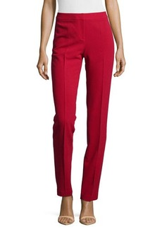 Lafayette 148 New York Slim-Leg Wool Pants