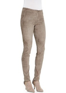 Lafayette 148 New York Slim Suede Legging Pants